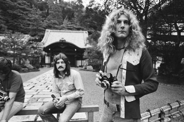 Rare 1970s Rock Royalties Off Stage